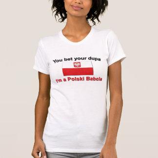 T-shirt Vous avez parié votre Dupa… Babcia