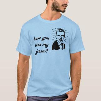 T-shirt vous avez vus mes verres (le mâle)