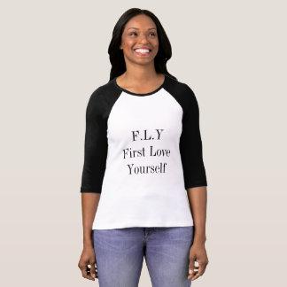 T-shirt Vous êtes la reine, amour vous-même !