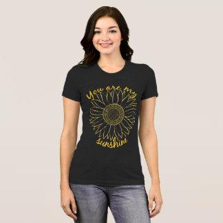T-shirt Vous êtes mon soleil T