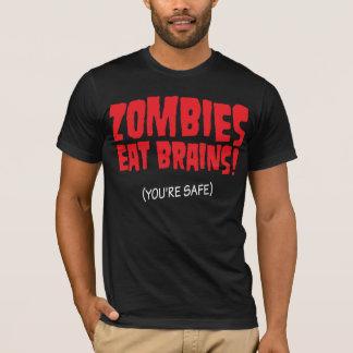 T-shirt Vous êtes sûrs des zombis