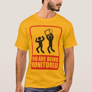 T-shirt Vous êtes surveillés