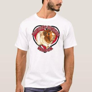 T-shirt Vous faites mon wheek de coeur