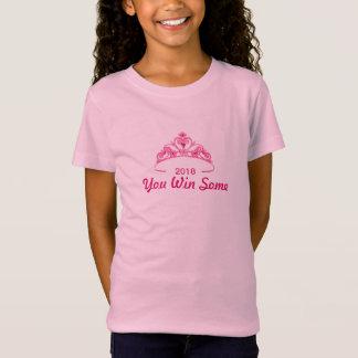 T-Shirt Vous gagnez un certain dessus pour des filles