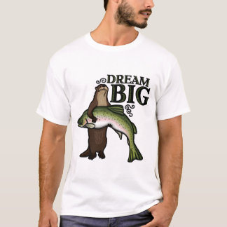 T-shirt Vous grand rêveur de loutre