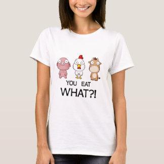 T-shirt Vous mangez ce qui ? ! - Vous mangez ce qui ? ! -