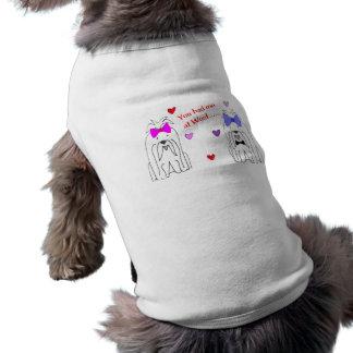 T-shirt Vous m'avez eu chez Woof maltais
