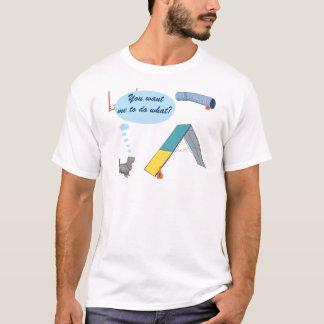 T-shirt Vous me voulez à ce qui ?