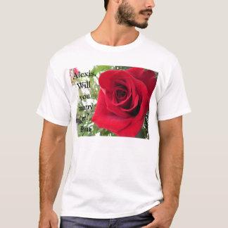 T-shirt Vous m'épouserez