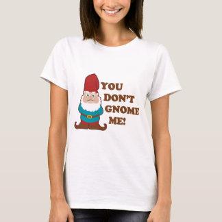 T-shirt Vous ne faites pas gnome je léger