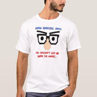 T-shirt Vous ne me voudriez pas quand je suis logo nerd