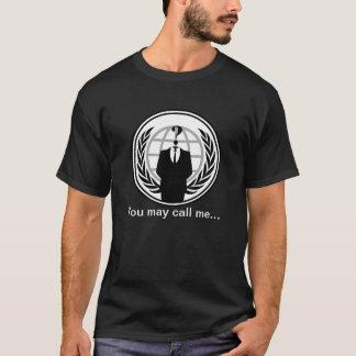T-shirt Vous pouvez m'appeler…