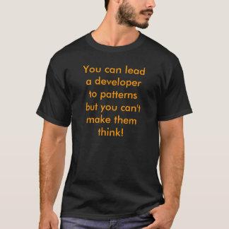 T-shirt Vous pouvez mener un promoteur aux motifs…