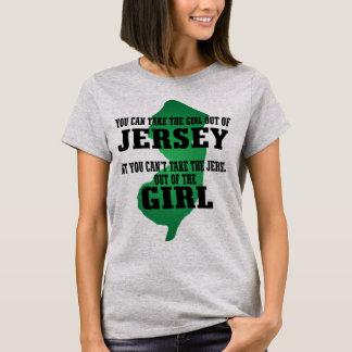 T-shirt Vous pouvez prendre la fille hors du Jersey….