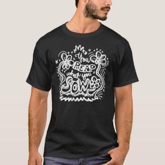 T-shirt Vous récoltez ce qui vous la truie 2