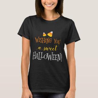 T-shirt Vous souhaitant un Halloween doux