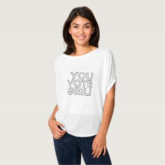 T-shirt Vous votez la chemise de Bella de fille