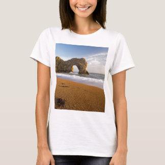 T-shirt Voûte Dorset Angleterre de roche de porte de