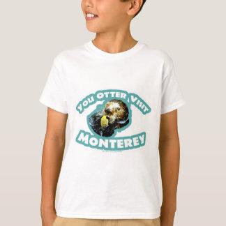T-shirt Voyage mignon de loutre de Monterey