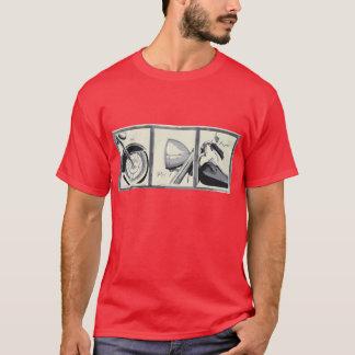 T-shirt Voyage Tic de moto