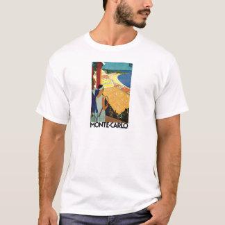 T-shirt Voyage vintage de Monte Carlo Monaco