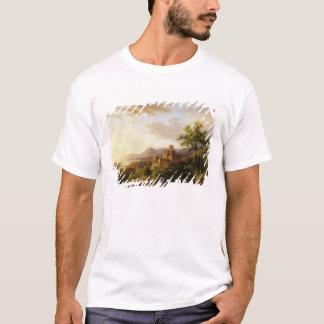 T-shirt Voyageurs sur un chemin dans un LAN étendu de la