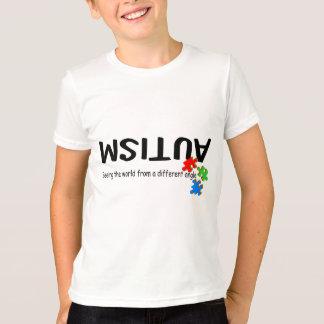 T-shirt Voyant le monde d'un angle différent (morceaux)
