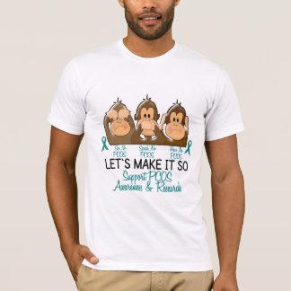 T-shirt Voyez que parler n'entendez aucun PCOS 2