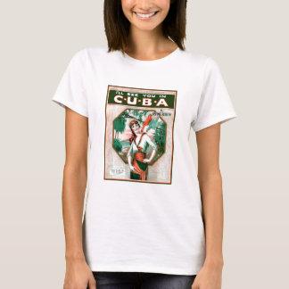 T-shirt Voyez-vous au Cuba