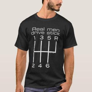 T-shirt Vrai bâton d'entraînement d'hommes