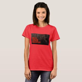 T-shirt VRAI CRIME ROUGE T pour des FEMMES