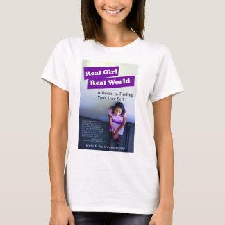 T-shirt Vrai monde réel de fille