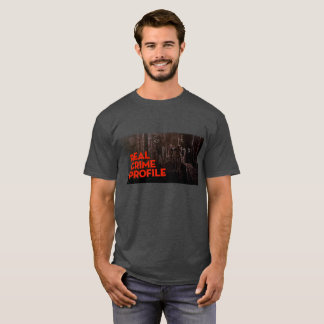 T-shirt Vrai tee - shirt de profil de crime