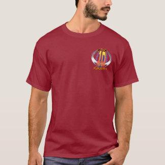 T-shirt vraie flamme déchirée par 10yr Divco