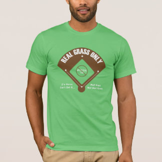 T-shirt Vraie herbe seulement