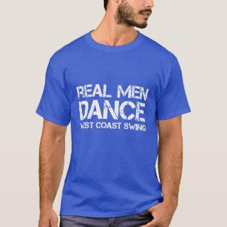 T-shirt Vraie oscillation de côte ouest de danse d'hommes