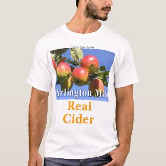 T-shirt Vraie pièce en t de cidre