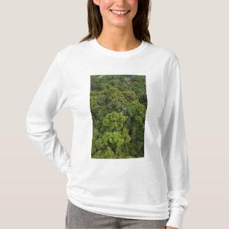 T-shirt Vue aérienne de forêt tropicale. Réservation