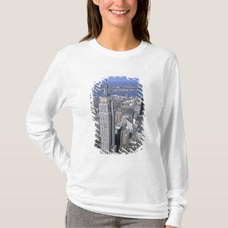 T-shirt Vue aérienne de l'Empire State Building et