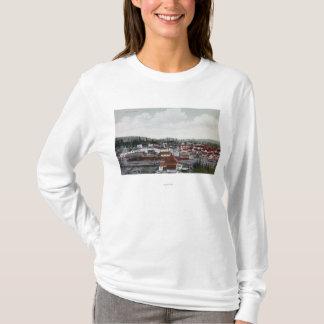 T-shirt Vue aérienne de ville
