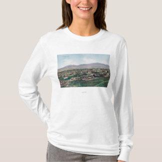 T-shirt Vue aérienne de ville des collines