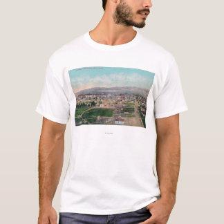 T-shirt Vue aérienne du CityPocatello, identification