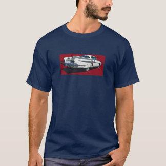 T-shirt Vue arrière de l'impala 1958 de Chevy de blanc