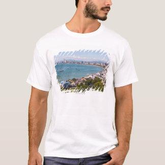 T-shirt Vue au-dessus de baie de Pattaya