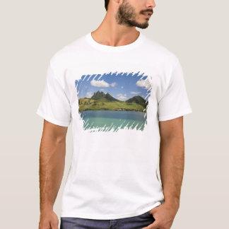 T-shirt Vue d'Arial de montagne de lion, du sud-est