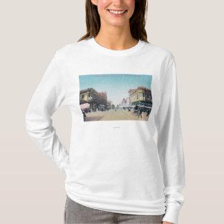 T-shirt Vue de 13ème rue de BroadwayOakland, CA