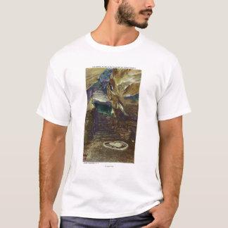 T-shirt Vue de balcon du temple du titan du nuptiale