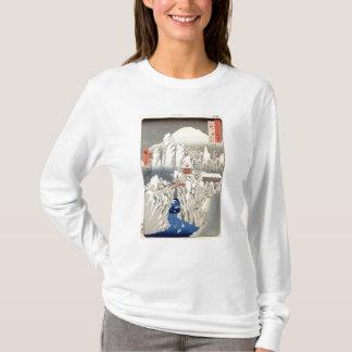 T-shirt Vue de bâti Haruna dans la neige
