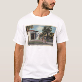 T-shirt Vue de bibliothèque de mémorial de Welwood Murray