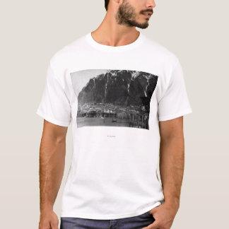 T-shirt Vue de bord de mer photographie de Juneau, Alaska